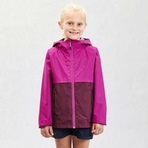 Decathlon Girls Purple Hiking Jacket US 12 Years